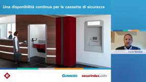 Una disponibilità continua per la cassette di sicurezza: guarda il video del webinar Gunnebo