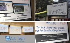A.I. Tech presente al primo convegno italiano sull'Intelligenza Artificiale