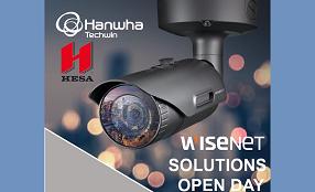 Il 12 giugno nella sede HESA di Milano, Wisenet Solutions Open Day