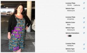 Presentato a Las Vegas l'abito che inganna i sistemi di lettura targhe