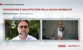 Innovazione e sviluppo PSIM nella nuova normalità - intervista a Nils Fredrik Fazzini