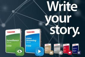 Toshiba presenta i nuovi hard disk interni S300 e V300