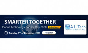 A.I. Tech vi aspetta al Dahua Technology Partner Day 2020