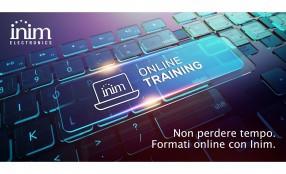 Inim Eletronics: i webinar di formazione gratuita che, in più, ti premiano!