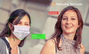 Hanwha Techwin presenta l'applicazione Mask Detection