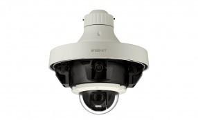 Hanwha Techwin presenta due nuove telecamere multidirezionali e PTZ Wisenet P