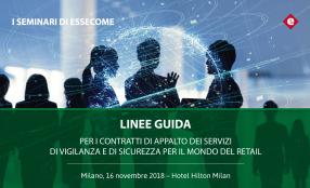 Linee Guida appalti servizi di vigilanza nel retail, presentazione il 16 novembre