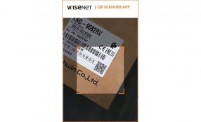 App Wisenet QR scanner, un ausilio smart per i system integrator