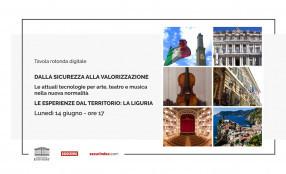Le tecnologie per arte, teatro e musica nella nuova normalità. Le esperienze dal territorio: Liguria