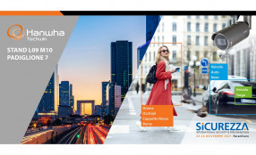 Hanwha Techwin a Sicurezza 2021: un segnale forte di presenza per il rilancio di tutto il comparto della Sicurezza Professionale