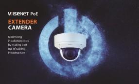 Hanwha Techwin presenta le telecamere PoE Extender Wisenet