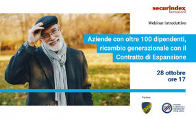 Aziende con oltre 100 dipendenti, ricambio generazionale con il Contratto di Espansione - save the date