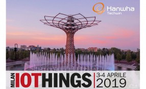 Hanwha Techwin partecipa a IoThings Milan 2019