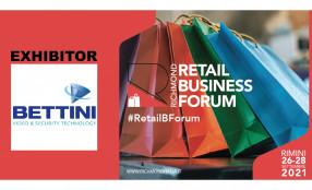 Dal 26 al 28 settembre Bettini Srl parteciperà come Exhibitor al Retail Business Forum organizzato da Richmond a Rimini