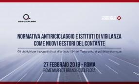 Antiriciclaggio, seminario di Assovalori il 27 febbraio a Roma