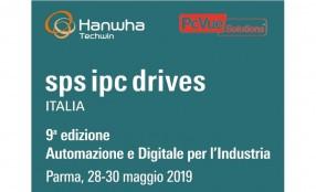 Hanwha Techwin con PcVue Solutions a SPS Italia 2019