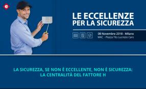 Le Eccellenze per la Sicurezza, il programma dell'8 novembre a Milano
