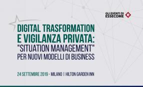 La Vigilanza privata e le nuove opportunità offerte dalla Digital Transformation. Convegno a Milano il 24 settembre