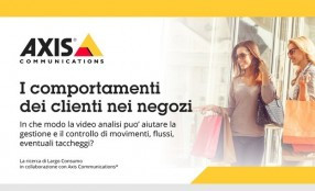 Come si comportano i clienti nei negozi? La ricerca di Axis Communications e Largo Consumo