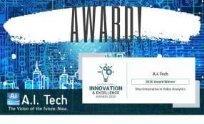 A.I. Tech premiata a Innovation & Excellence Awards 2020
