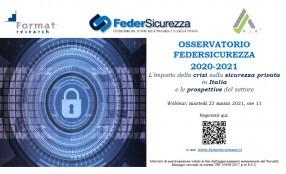 Vigilanza privata, le tendenze del mercato nel Report FederSicurezza - save the date