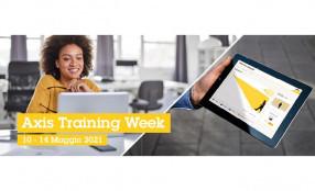 Axis Training Week: dal 10 al 14 maggio una settimana di formazione tecnica online sui sistemi integrati in sicurezza