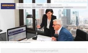 """E' online la nuova versione del """"Programma per Progettisti"""" Hörmann"""