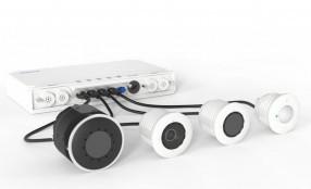 MOBOTIX lancia il sistema video di ultima generazione S74 - per la prima volta, quattro moduli in un'unica telecamera